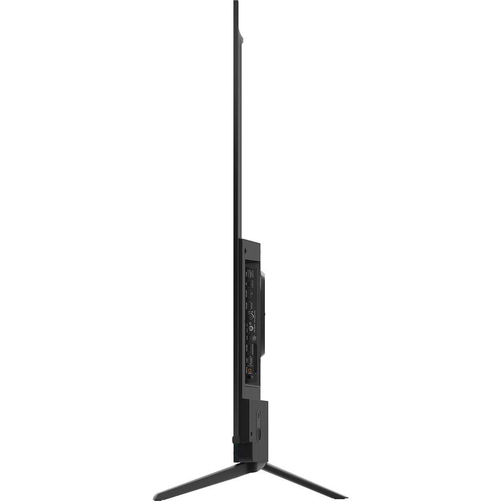 "TCL QLED-Fernseher »75C815X1«, 189 cm/75 "", 4K Ultra HD, Smart-TV, integrierter ONKYO Soundbar-Android TV Sprachfernbedienung"