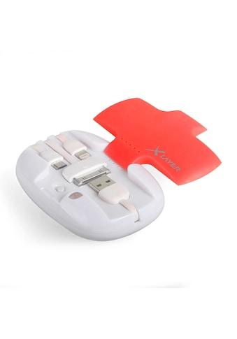 XLAYER Zusatzakku »Powerbank All - in - One Red/White 4000mAh Smartphones« kaufen
