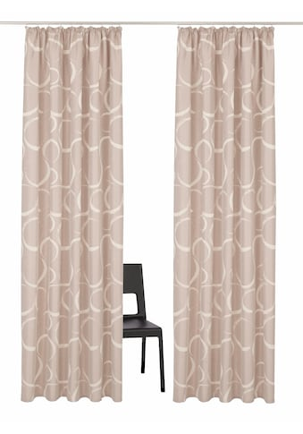 Vorhang, »Kade«, my home Selection, Kräuselband 2 Stück kaufen