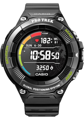 CASIO PRO TREK Smart PRO TREK Smart, WSD - F21HR - BKAGE Smartwatch (Wear OS by Google) kaufen
