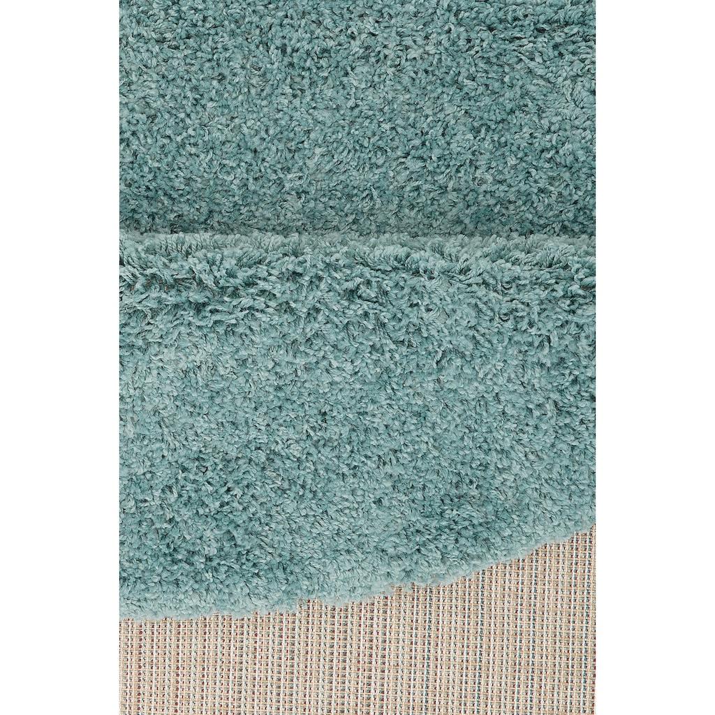 Home affaire Hochflor-Teppich »Viva«, rund, 45 mm Höhe, gewebt