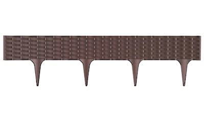 PROSPERPLAST Palisade »IBRA - R222«, Länge 390 cm, braun kaufen