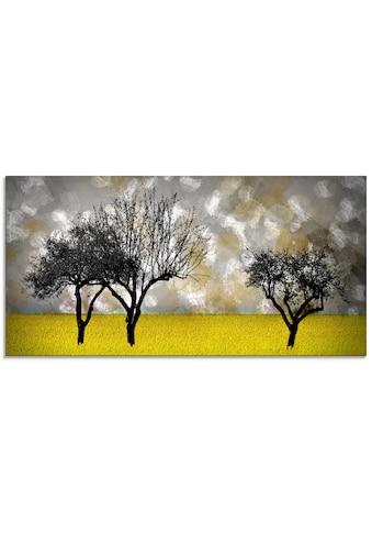 Artland Glasbild »Landschaft«, Bäume, (1 St.) kaufen