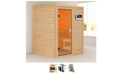 Karibu Sauna »Sandy«, 3,6-kW-Plug & Play Ofen mit ext. Steuerung kaufen