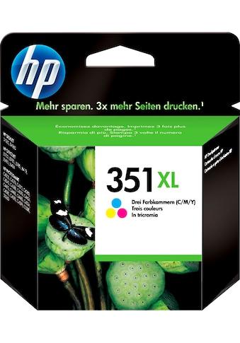 HP »hp 351XL Original Cyan, Magenta, Gelb« Tintenpatrone (1 - tlg.) kaufen