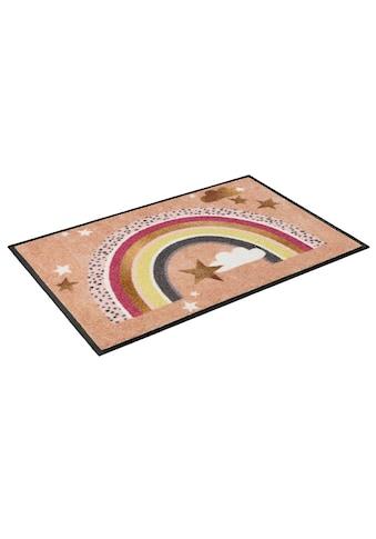 wash+dry by Kleen-Tex Fußmatte »Rainbow Glamour«, rechteckig, 7 mm Höhe,... kaufen
