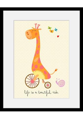 Home affaire Bild »Giraffe«, mit Rahmen kaufen