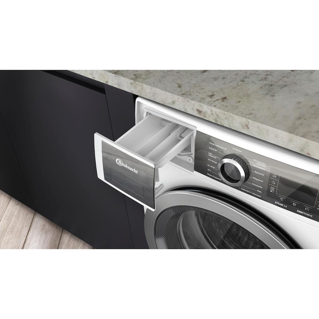 BAUKNECHT Waschmaschine »B6 W845WB DE«, B6 W845WB DE, 8 kg, 1400 U/min