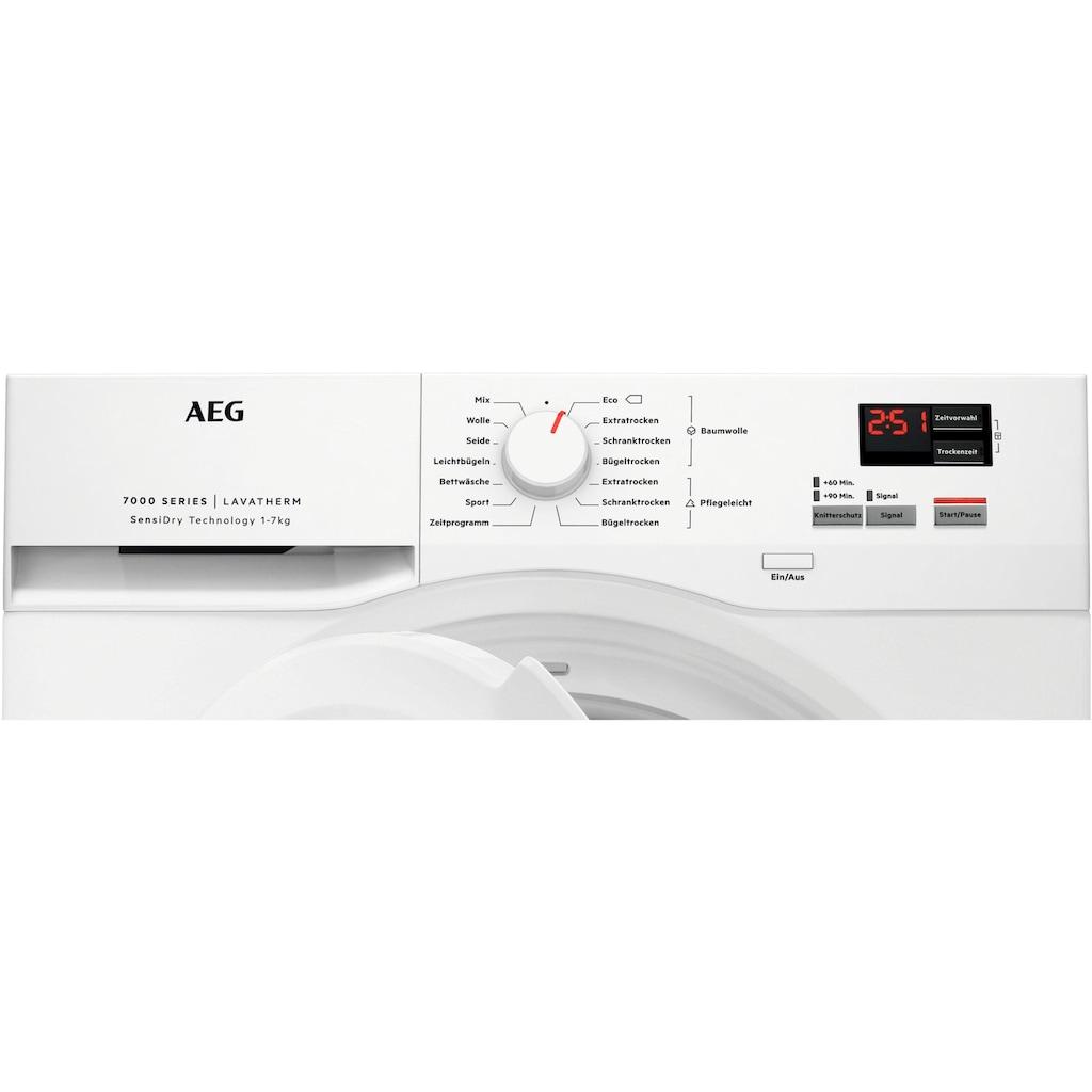 AEG Wärmepumpentrockner »T7DBZ41570«, 7000, mit SensiDry - Technologie
