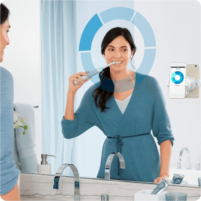Oral B Elektrische Zahnbürste Genius 8900, Aufsteckbürsten: 3 Stk.