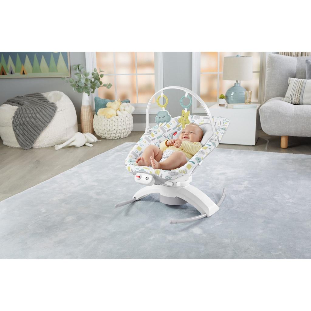 Fisher-Price® Babyschaukel »2-in-1 Glider«, bis 9 kg, elektrisch, mit Smart Connect App