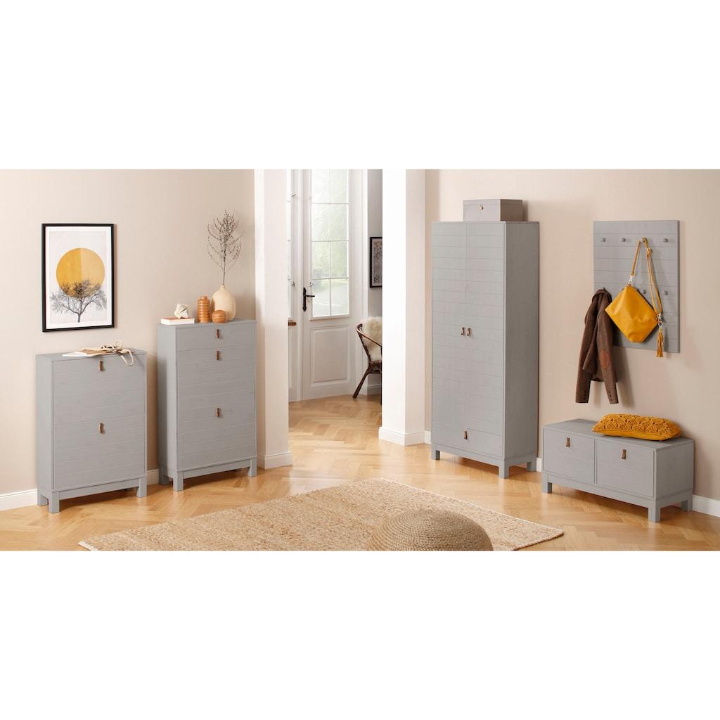 Home affaire Bank »Ella«, aus massivem Kiefernholz, in unterschiedlichen Farbvarianten, Breite 88 cm