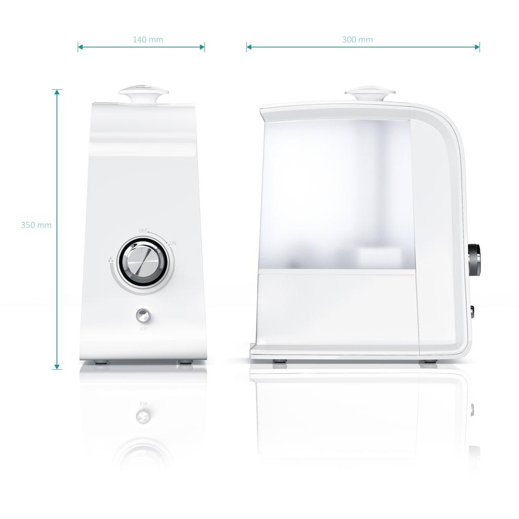 Arendo LED Luftbefeuchter mit Ionisierung & Ultraschall