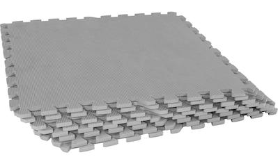 GORILLA SPORTS Bodenschutzmatte »Schutzmattenset mit acht Teilen Grau«, (Set, 8),... kaufen
