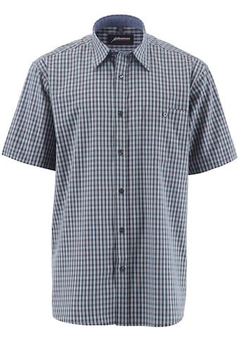 ALBATROS Hemd »Bronze 1/2«, Kurzarm, grau - kariert kaufen