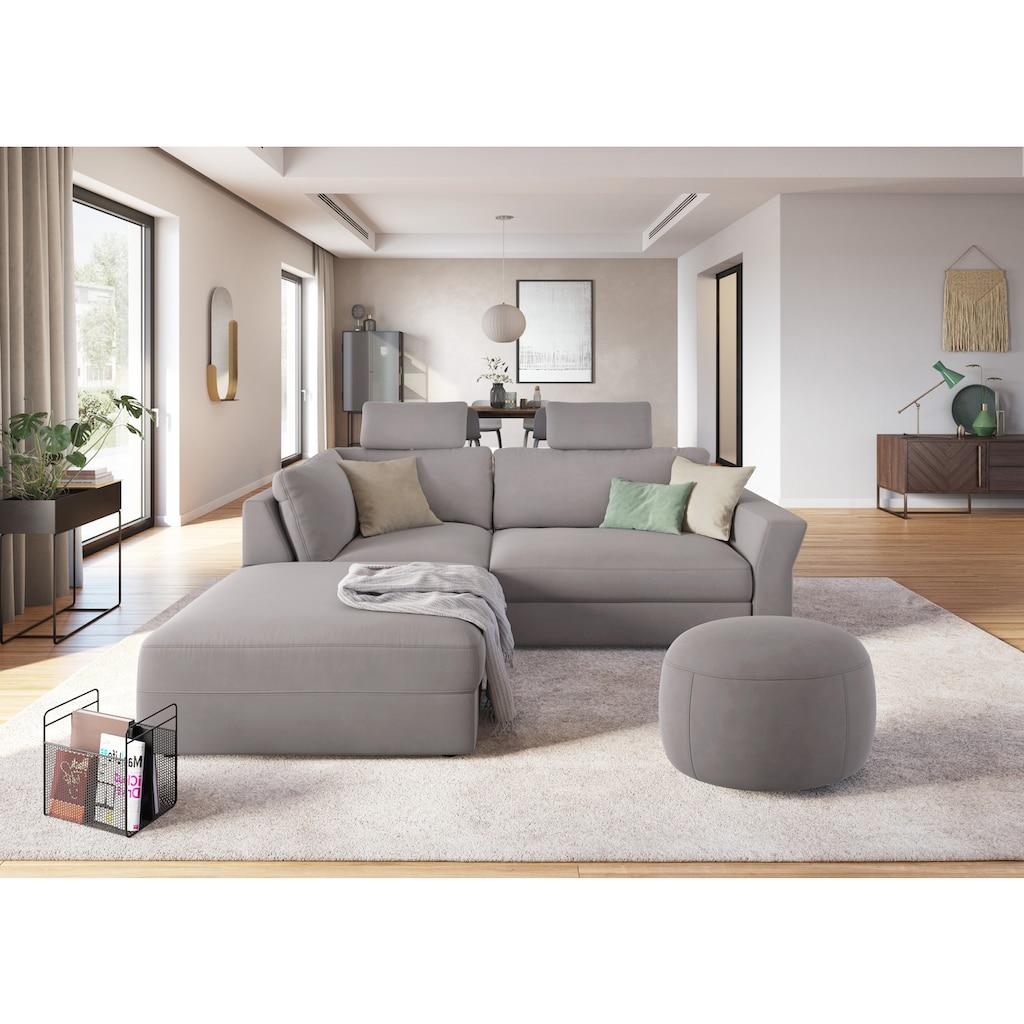 sit&more Hocker »Cadabra«, Rundhocker, Durchmesser Sitzfläche 64 cm oder 104 cm