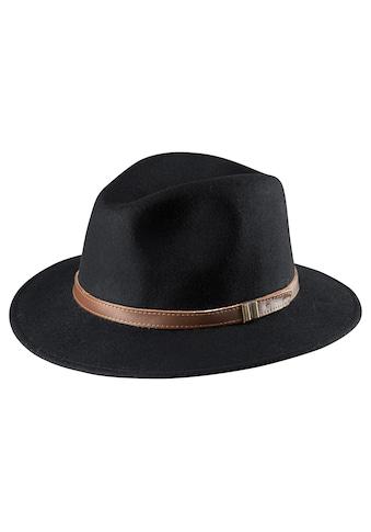 J.Jayz Outdoorhut, aus Wollfilz, Hutband kaufen