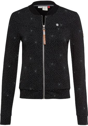 Ragwear Sweatjacke »KENIA PRINT«, im maritimen Allover-Druck-Design kaufen