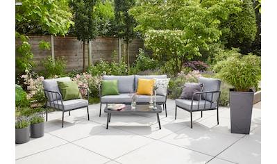 Siena Garden Loungeset »Casita«, (1x 2er-Sofa, 2x Sessel, 1x Tisch) kaufen