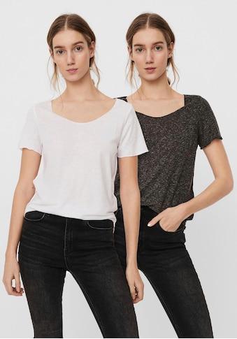 Vero Moda Rundhalsshirt »VMLUA« kaufen