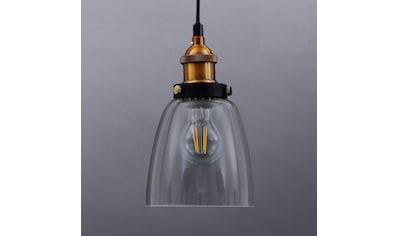 B.K.Licht Pendelleuchte »Sigma«, E27, Deckenlampe Retro Pendel-Lampe Vintage... kaufen