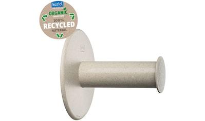 KOZIOL Toilettenpapierhalter »PLUG N ROLL«, aus 100% recyceltem Material kaufen