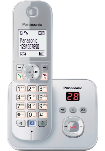 Panasonic Schnurloses DECT-Telefon »KX-TG6821G«, (Mobilteile: 1 ), mit Anrufbeantworter kaufen