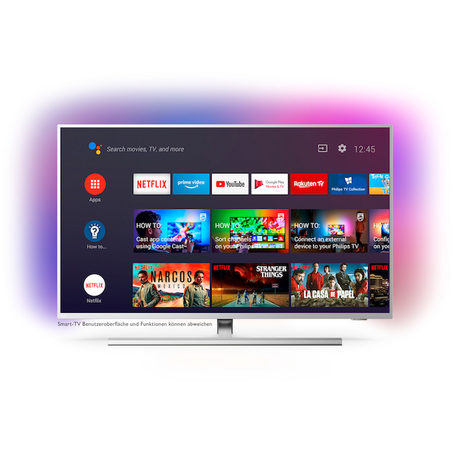 Philips 50PUS8505 LED-Fernseher (126 cm / (50 Zoll), 4K Ultra HD, Android TV