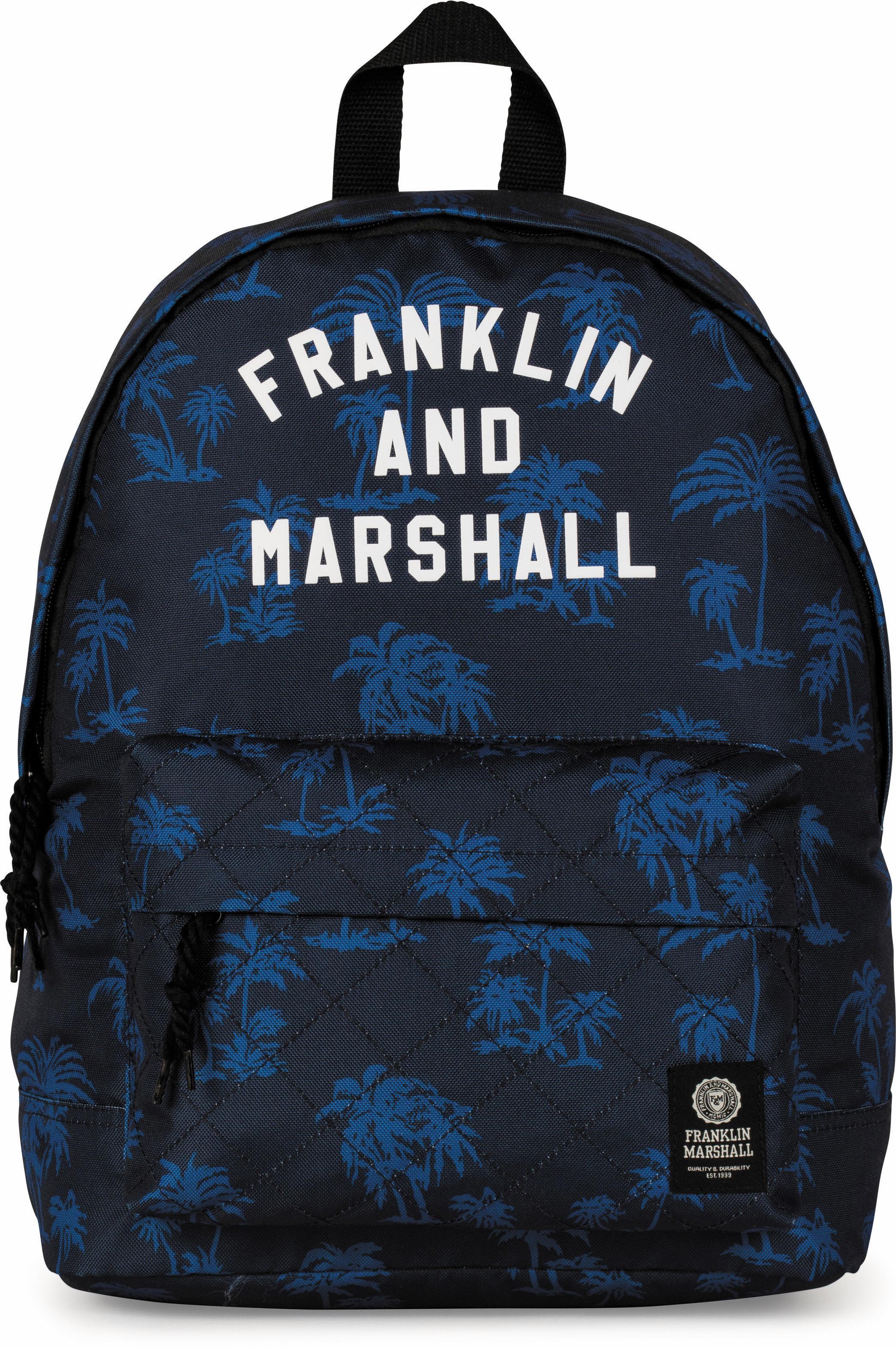 Franklin & Marshall Rucksack, »Boys, Palmen, blau« | Taschen > Rucksäcke > Sonstige Rucksäcke | Blau | FRANKLIN & MARSHALL