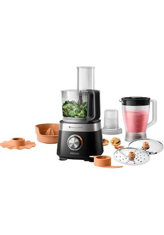 Philips Küchenmaschine »HR7530/10«, 850 W, 2,1 l Schüssel, 31 Funktionen, 2-in-1... kaufen