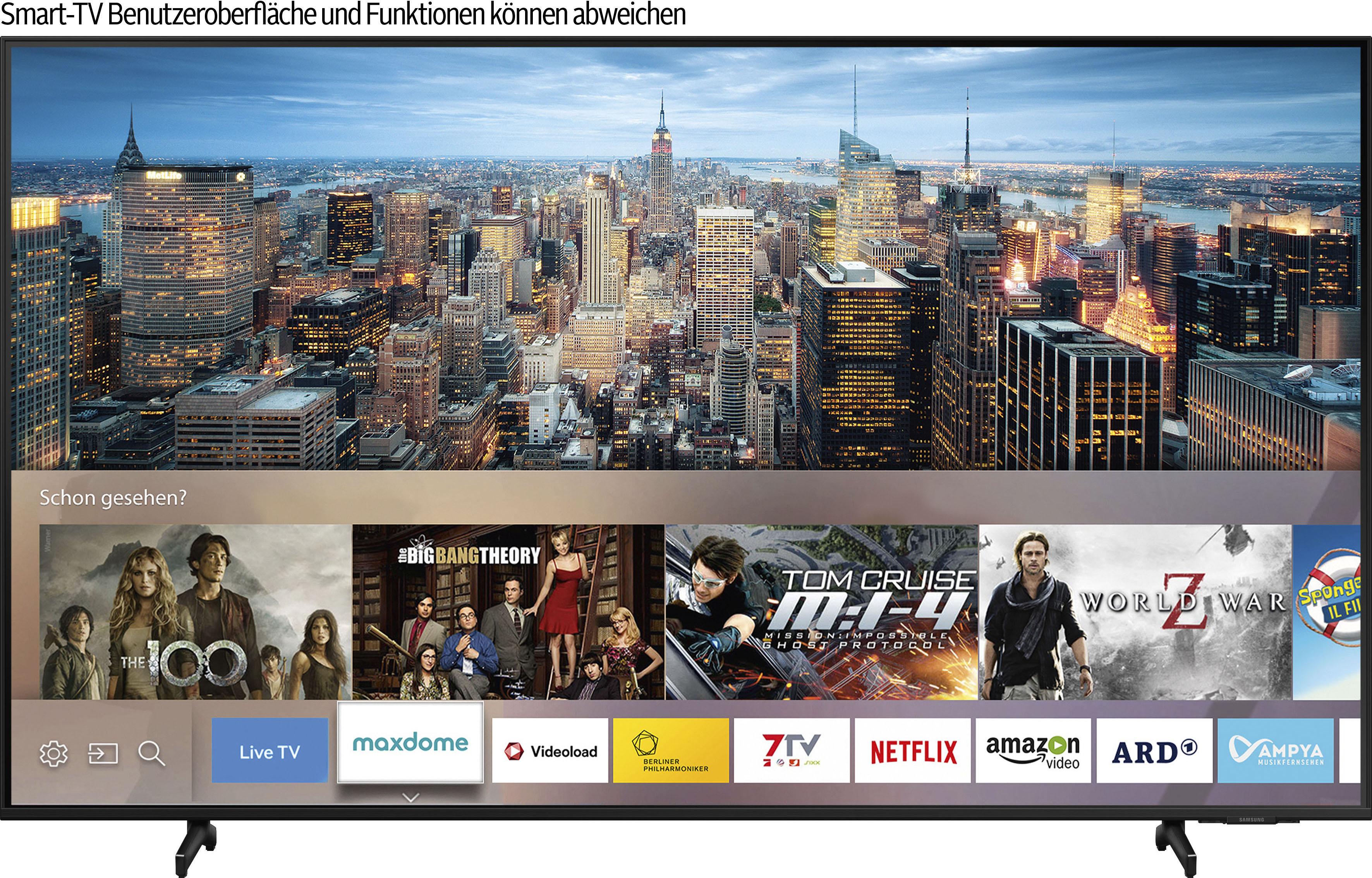 Samsung QLED-Fernseher GQ50Q60AAU , 125 cm 50 , 4K Ultra HD, Smart-TV