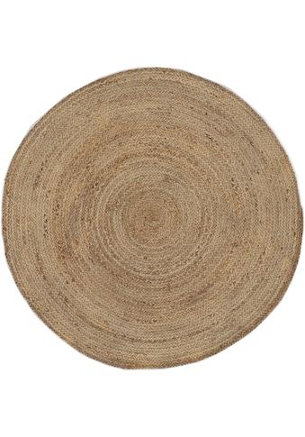 carpetfine Teppich »Nele«, rund, 6 mm Höhe, Wendeteppich 100% Jute in rund und oval,... kaufen