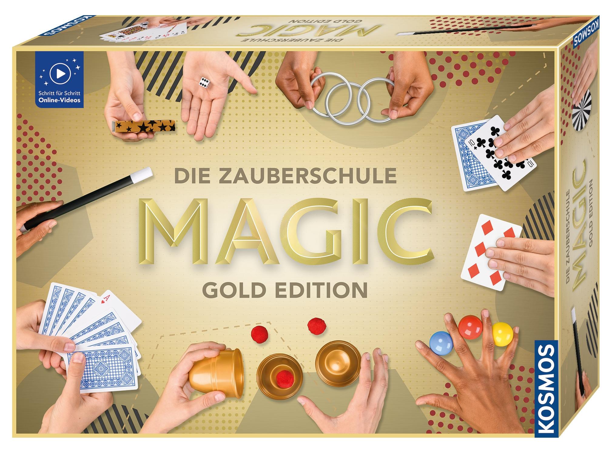 Kosmos Zauberkasten Die Zauberschule Magic Gold Edition