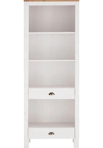 Home affaire Regal »Oslo«, 75 cm breit, 205 cm hoch, 2 Schubladen, 4 Fächer, aus... kaufen