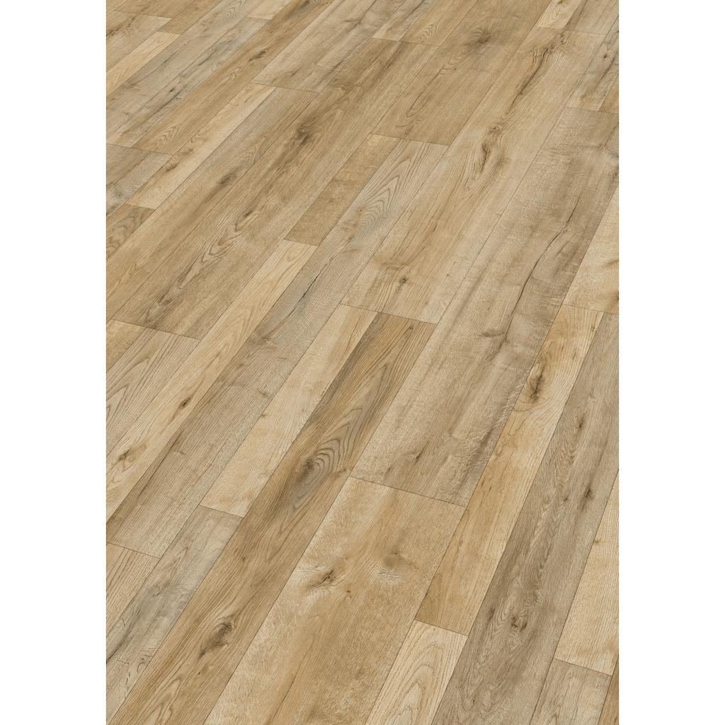 MODERNA Laminat »Impression 4V, Falun Eiche«, pflegeleicht, 1288 x 198 mm, Stärke: 7 mm