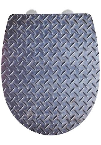 WENKO WC-Sitz »Pattern mit Relief«, Thermoplast kaufen