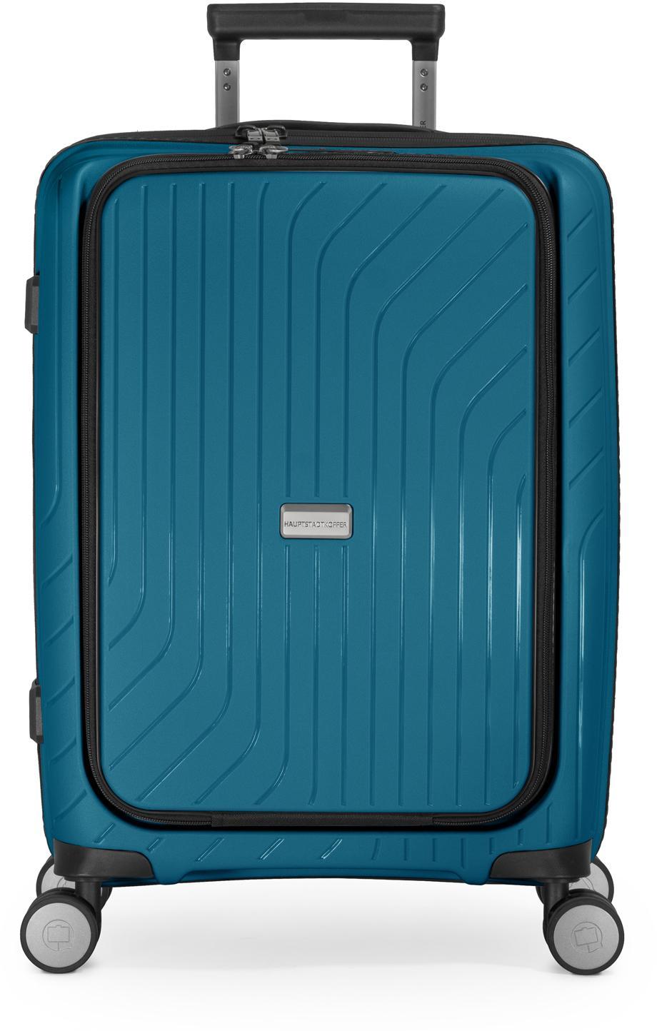 Hauptstadtkoffer Hartschalen-Trolley TXL, dunkelblau, 55 cm, 4 Rollen   Taschen > Koffer & Trolleys > Trolleys   Blau   hauptstadtkoffer