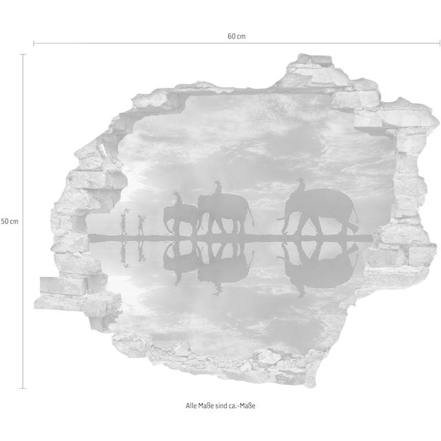 queence Wandtattoo »Elefanten« (1 Stück)