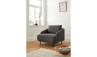 andas Sessel »Bendik«, Füße in abgestimmer Bezugsfarbe, Design by Morten Georgsen kaufen