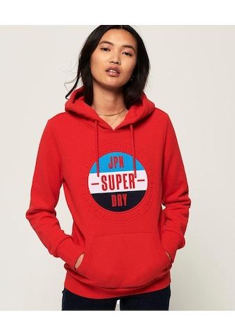 Superdry Kapuzensweatshirt »90S EMBOSS ENTRY HOOD UB« kaufen