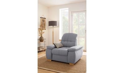 Home affaire Sessel »Lotus Home«, wahlweise mit Kopfteilverstellung und Aqua... kaufen