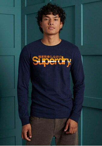 Superdry Langarmshirt »CL VINTAGE STRIPE LS TOP« kaufen