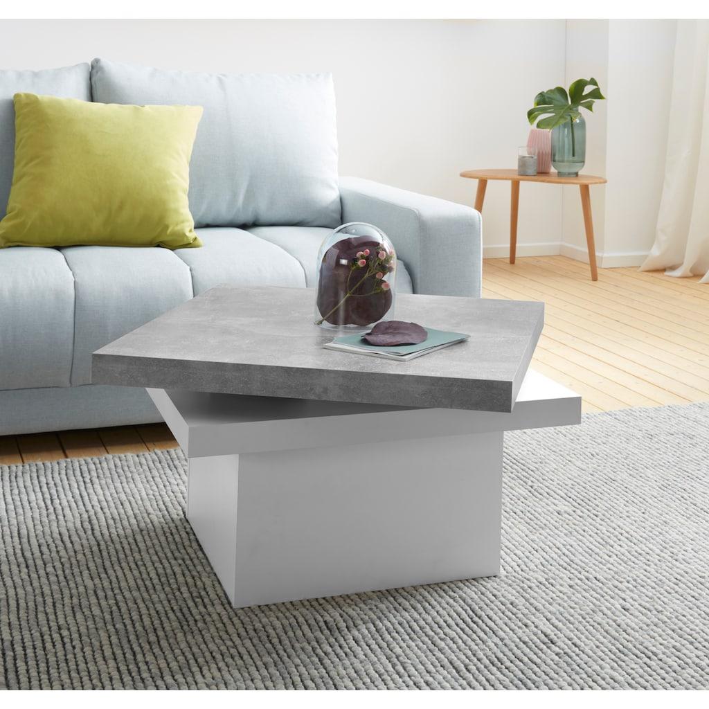 INOSIGN Couchtisch, mit Funktion, drehbare Tischplatte