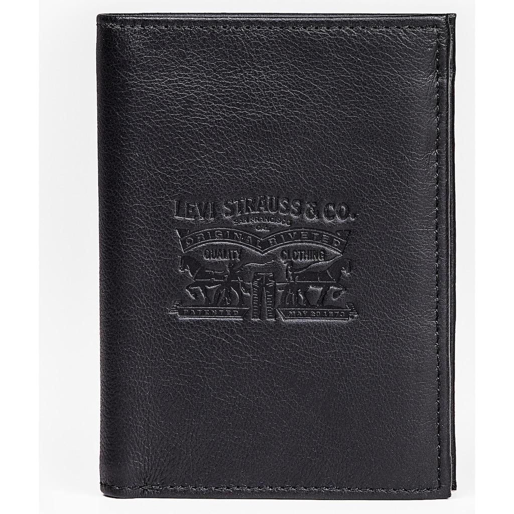 Levi's® Geldbörse »VINTAGE TWO HORSE VERTICAL COIN WALLET«, mit Logoprägung
