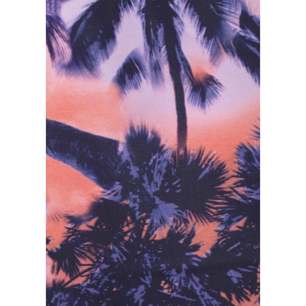 Sunseeker Badeshorts, mit Palmendruck