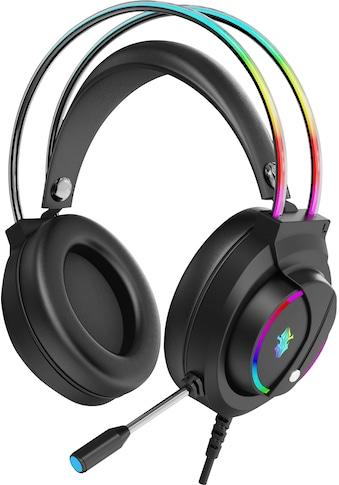 Hyrican Gaming-Headset »Striker Halo ST-GH707 Headset, schwarz, RGB-Beleuchtung, USB,... kaufen
