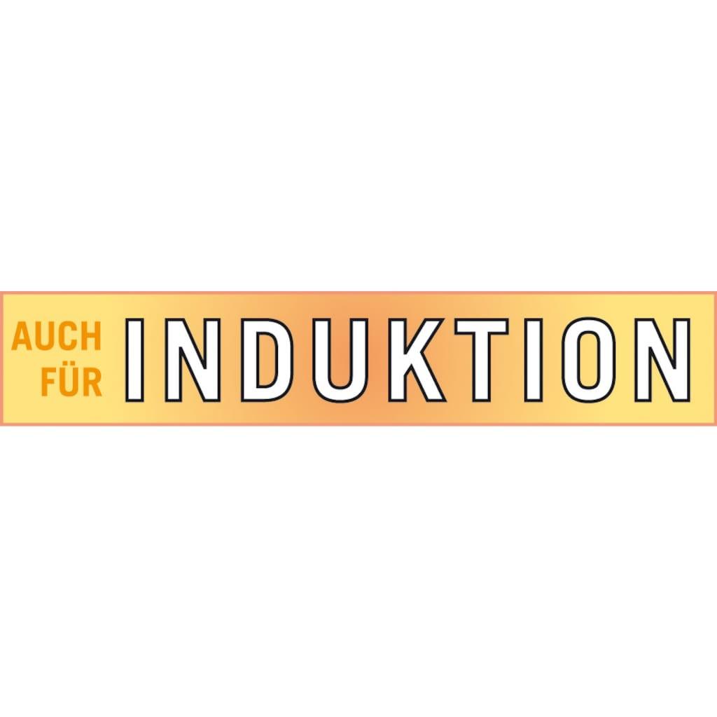 GSW Kochtopf »Profi«, Edelstahl, (1 tlg., Glasdeckel), Induktion