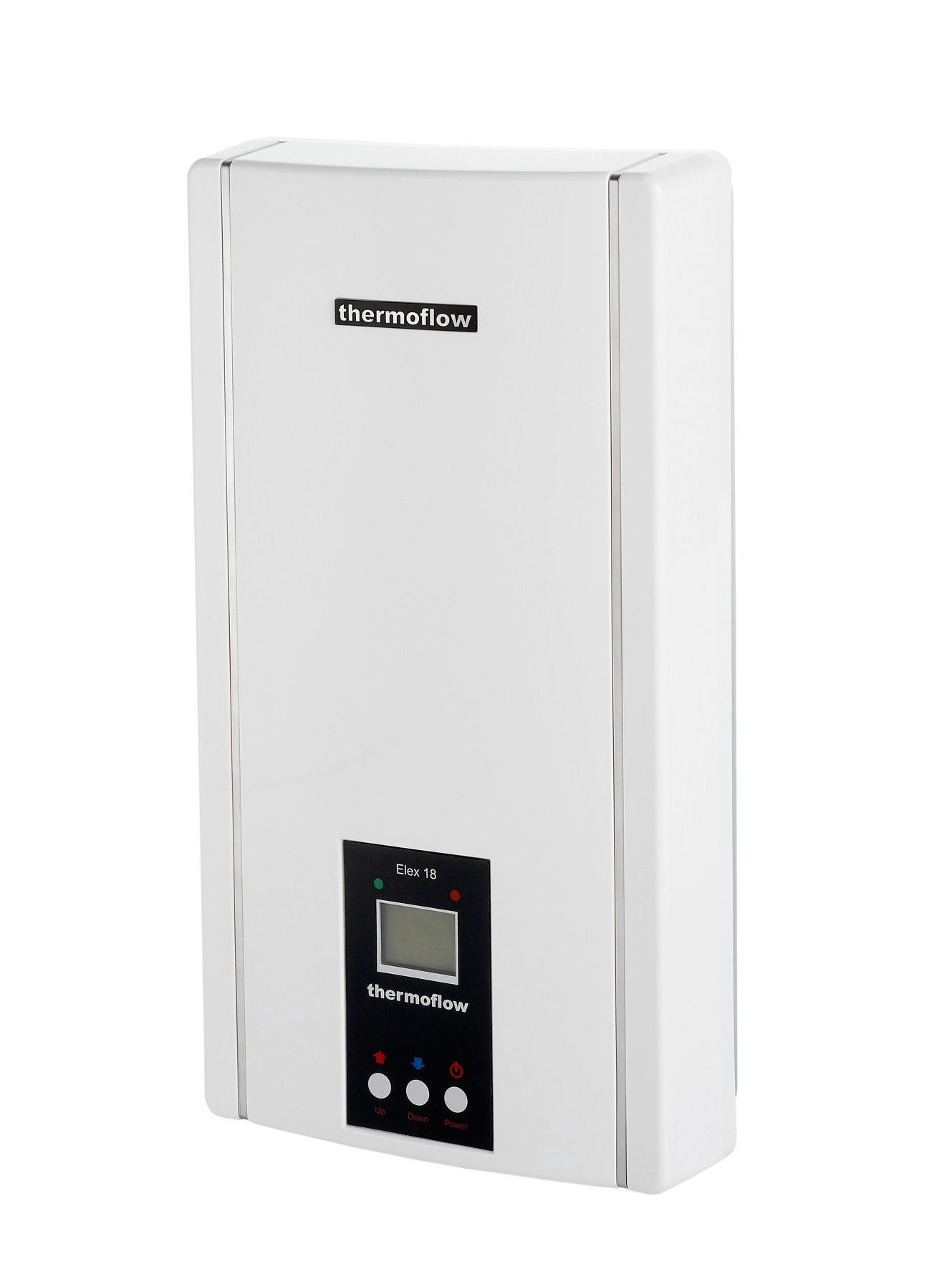 THERMOFLOW Durchlauferhitzer »Thermoflow Elex 18/21/24« | Baumarkt > Heizung und Klima > Durchlauferhitzer | Weiß | THERMOFLOW