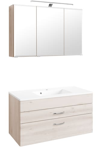 HELD MÖBEL Badmöbel-Set »Fontana«, (2 St.), Breite 100 cm, modernes Design kaufen