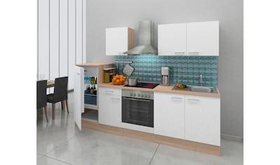 RESPEKTA Küchenzeile, mit E-Geräten, Breite 270 cm kaufen